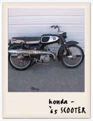 Honda 1965 Scooter